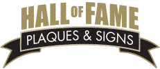 Hall of Fame Plaques & Signs Logo