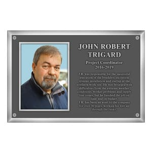 Aluminum Rectangle Plaque