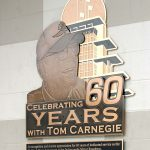 Tom Carnegie Hall Of Fame Plaque