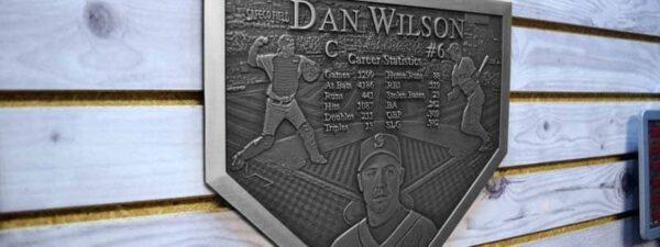 Aluminum Baseball Plaque