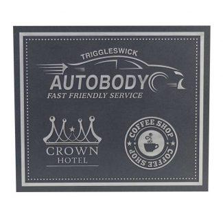 Aluminum Plaque 2
