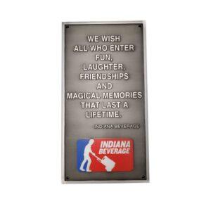 Aluminum Plaque 4