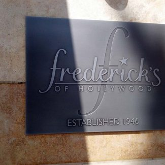 Fredericks Of Hollywood Plaque