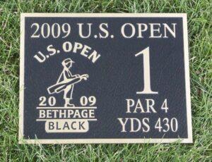Us Open Bronze Plaque