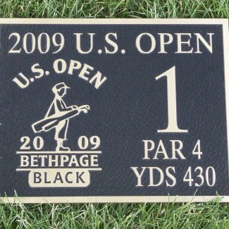 Us Open Bronze Plaque