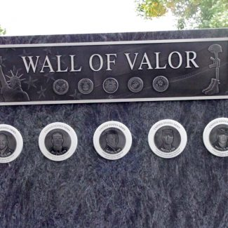 Wall Of Valor Hall Of Fame Plaque