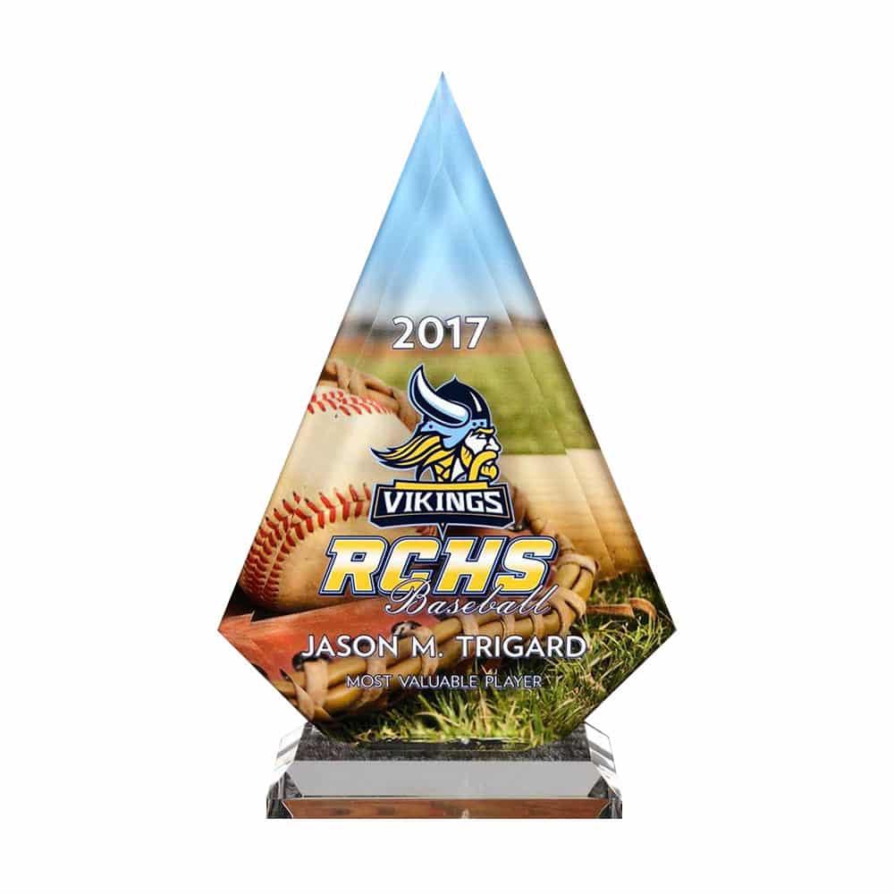 Custom Baseball Trophy Award