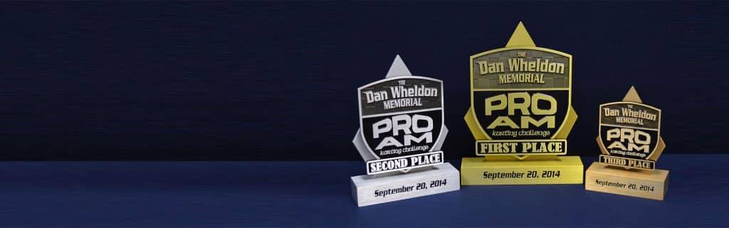 Custom Racing Trophy Award