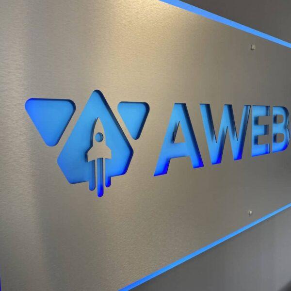 Awebco Office Led Sign