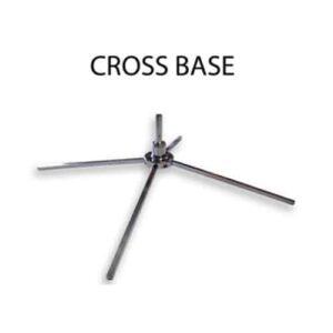 Cross Base Advertising Flag