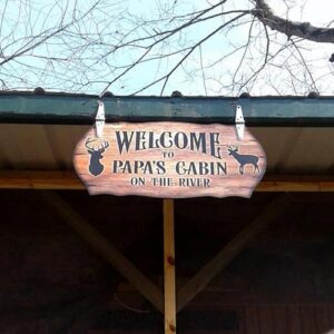Polystyrene Signs Cabin