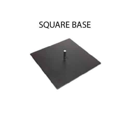 Square Base Advertising Flag