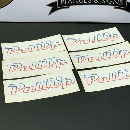 Vinyl Sticker Logo Signs