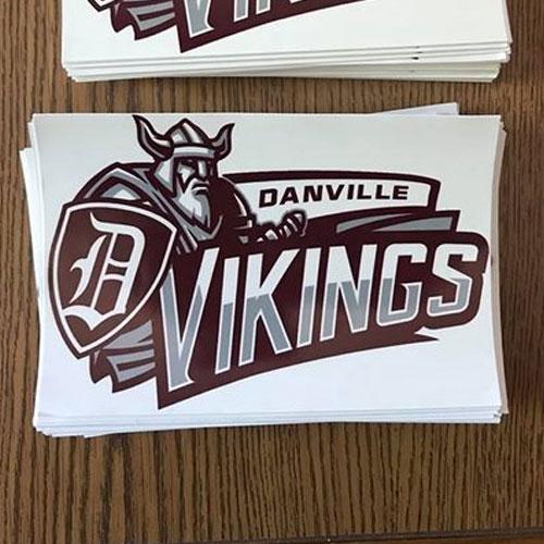 Vinyl Stickers Danville Il