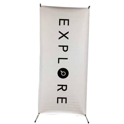 X Frame Retractable Banner