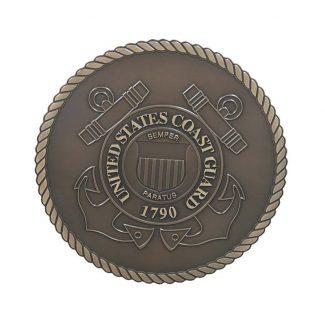 Coast Guard Bronze Plaque