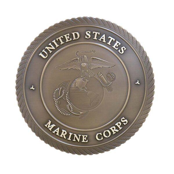 Marine Corps Bronze Plaque