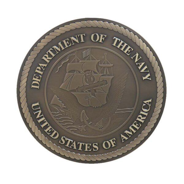 Navy Bronze Plaque