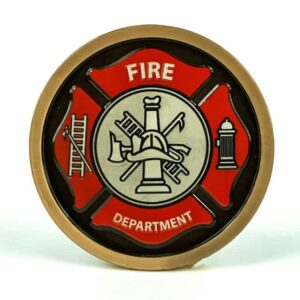 Fire Department Medallion Color