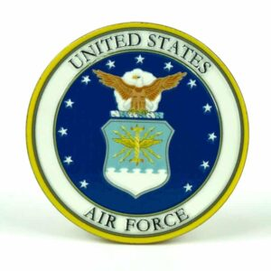 United States Air Force Medallion Color