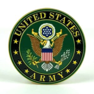 United States Army Medallion Color