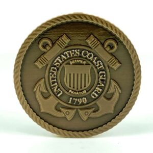 United States Coast Guard Medallion Bronze