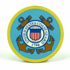 United States Coast Guard Medallion Color