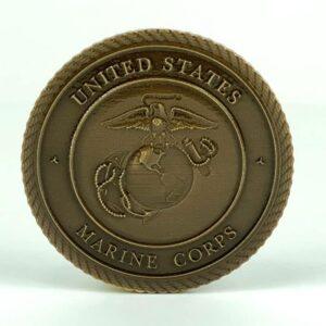 United States Marine Corps Medallion Bronze