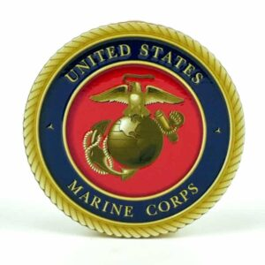 United States Marine Corps Medallion Color