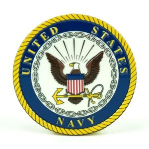 United States Navy Medallion Color