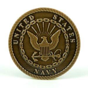 United States Navy Medallion Oxide