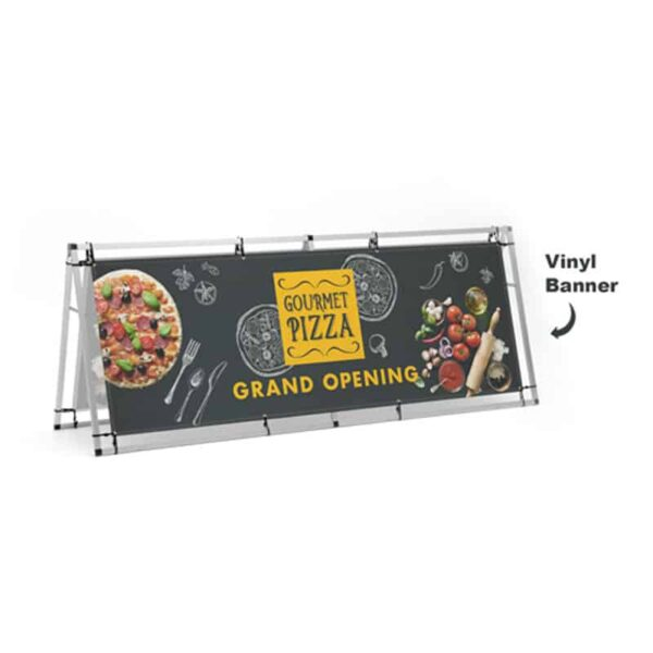 A-Frame Banner Stands (8 Ft.)