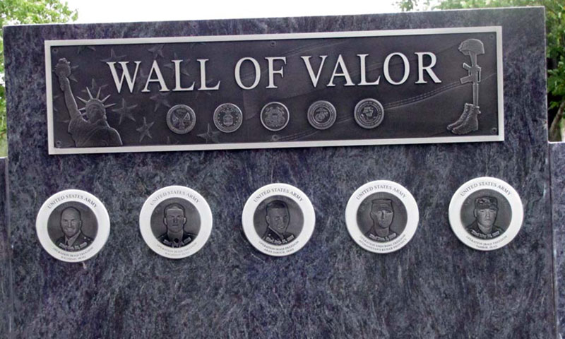 Wall Of Valor Military Recognition