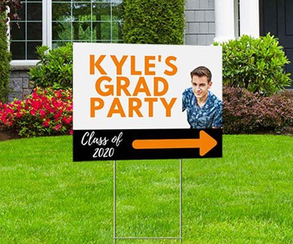 Custom Graduation Yard Sign