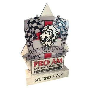 Custom Racing Trophy Award
