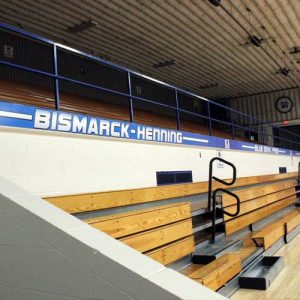 School Gymnasium Graphic Design